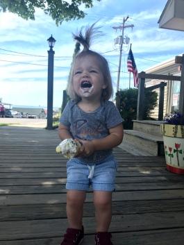 Leland Fishtown Ice cream Cone